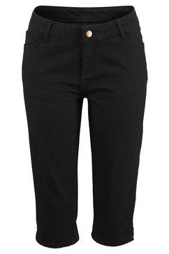 beachtime 7-8-capri-jeans zwart