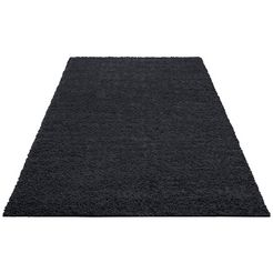 hoogpolig vloerkleed, home affaire collection, »shaggy 30«, hoogte 30 mm, geweven
