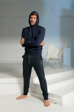 bench. hoodie met kangoeroezak blauw