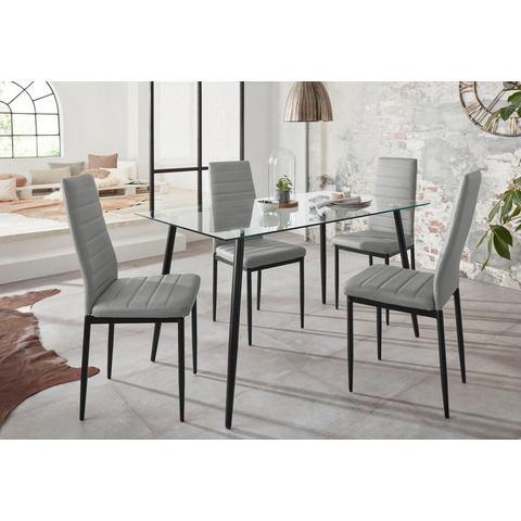 Eethoek Danny met tafel en 4 stoelen