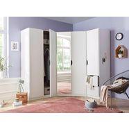 rauch pack´s hoekkastset »freiham«, (3-delig), met 1-deurs- en 2-deurskast wit