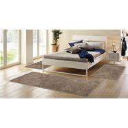 hoogpolige slaapkamerset, 3-dlg., home affaire collection, »viva«, hoogte 45 mm, geweven beige