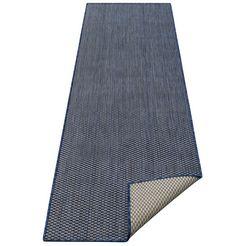 my home loper rhodos sisal-look, geschikt voor binnen en buiten blauw