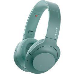 sony »wh-h900n« on-ear-hoofdtelefoon groen