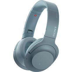 sony »wh-h900n« on-ear-hoofdtelefoon blauw