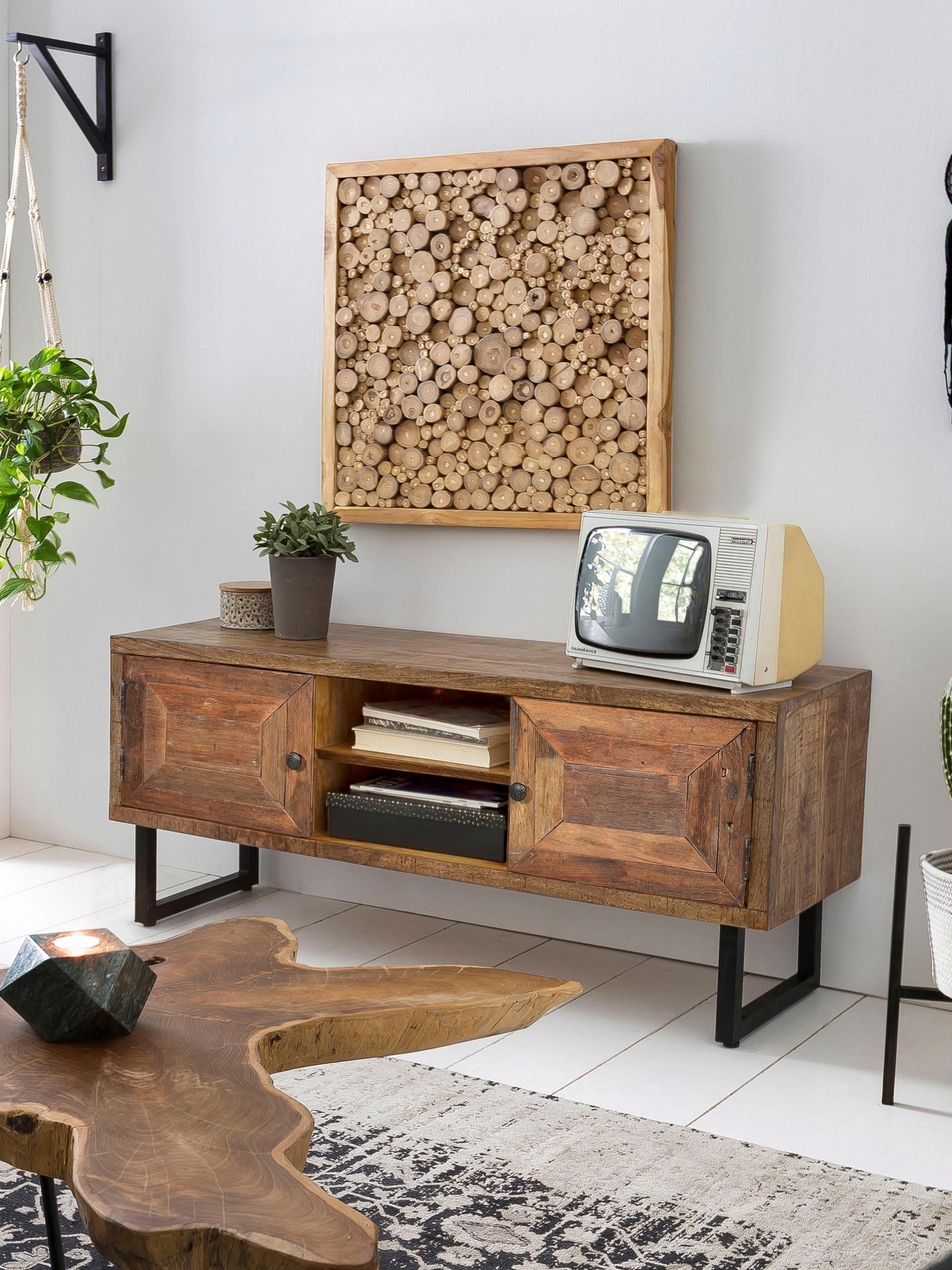 Op zoek naar een SIT tv-meubel Parquett van gerecycled teakhout, breedte 130 cm? Koop online bij OTTO