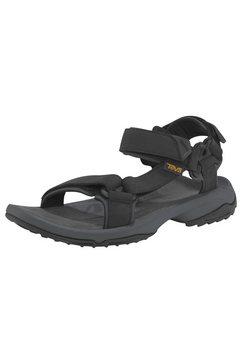 teva sandalen »terra fi lite leather sandal m´s« zwart
