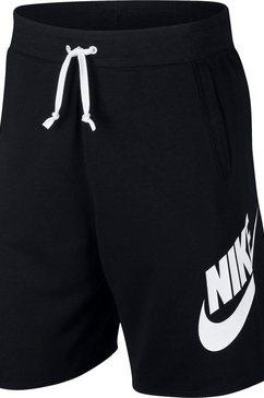 nike short »men's french terry shorts« zwart
