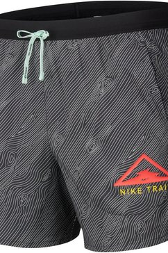 "nike runningshort »men's 5"" trail running shorts« zwart"