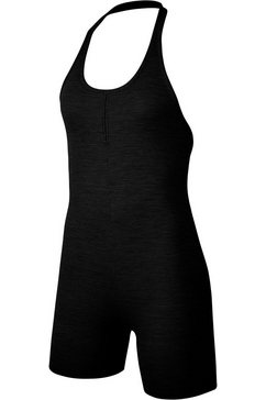 nike jurk in haltermodel »nike yoga women's jumpsuit« zwart