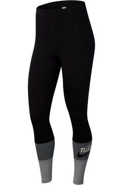 nike sportswear legging »varsity women's leggings« zwart