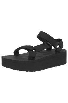 teva sandalen »flatform universal sandal w's« zwart