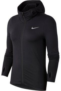 nike runningjack »nike element women's full-zip runni« zwart