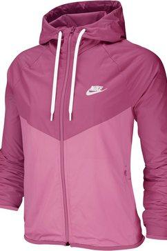 nike sportswear windbreaker »nike sportswear windrunner women's jacket« roze