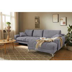 mr. couch hoekbank lynn 5 jaar fabrieksgarantie op koudschuimvulling, duurzaamheid, exclusieve collectie grijs