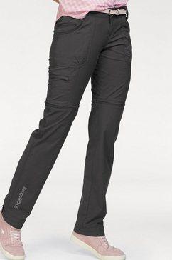 kangaroos broek met afneembare pijpen zwart