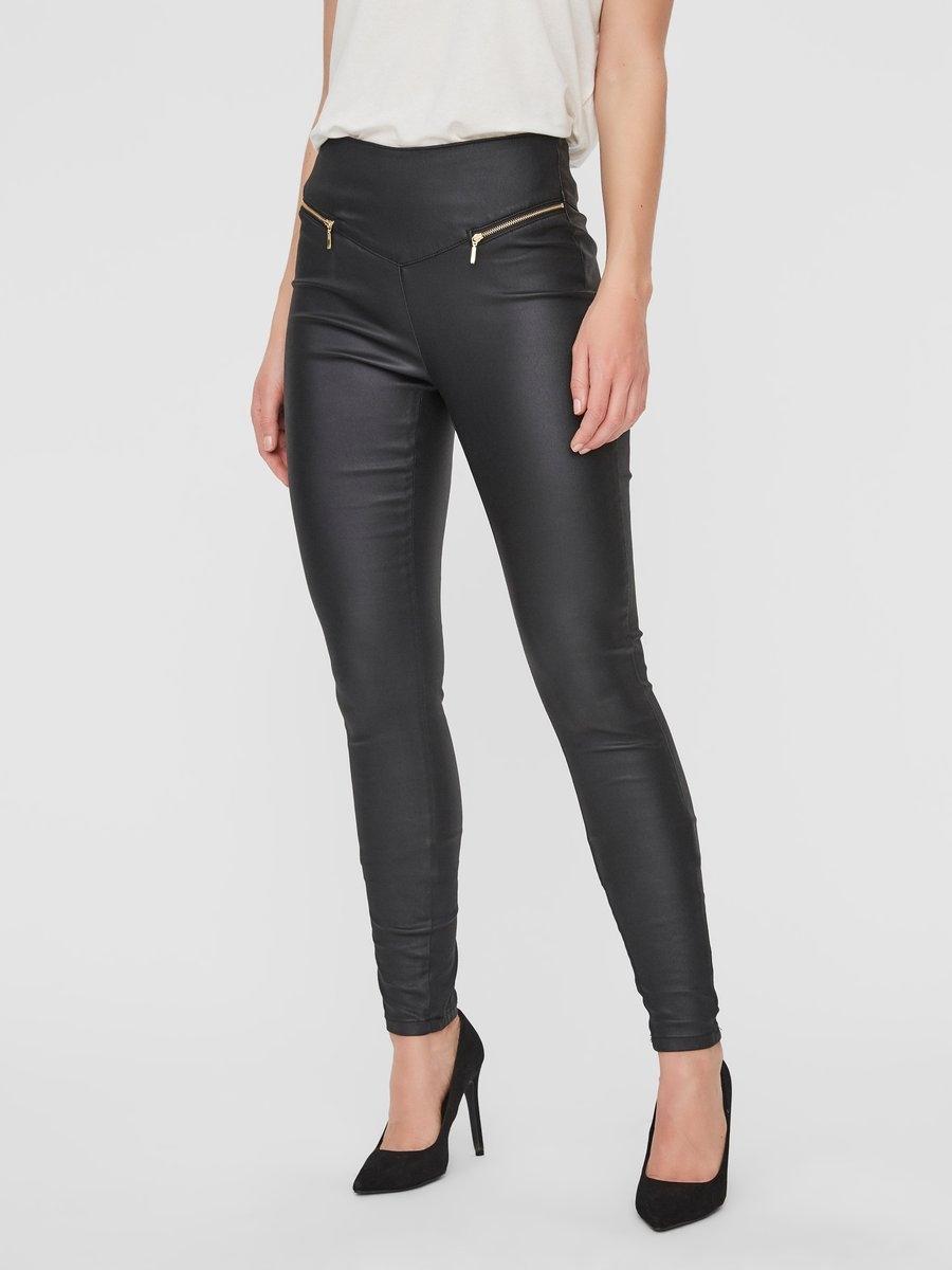 VERO MODA High Waist Slim Fit Hose voordelig en veilig online kopen