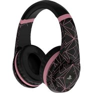 4gamers »pro4-70 rose gold abstract edition« gaming-headset zwart