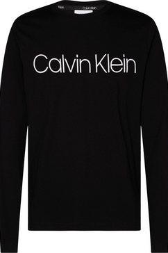 calvin klein shirt met lange mouwen en logoprint