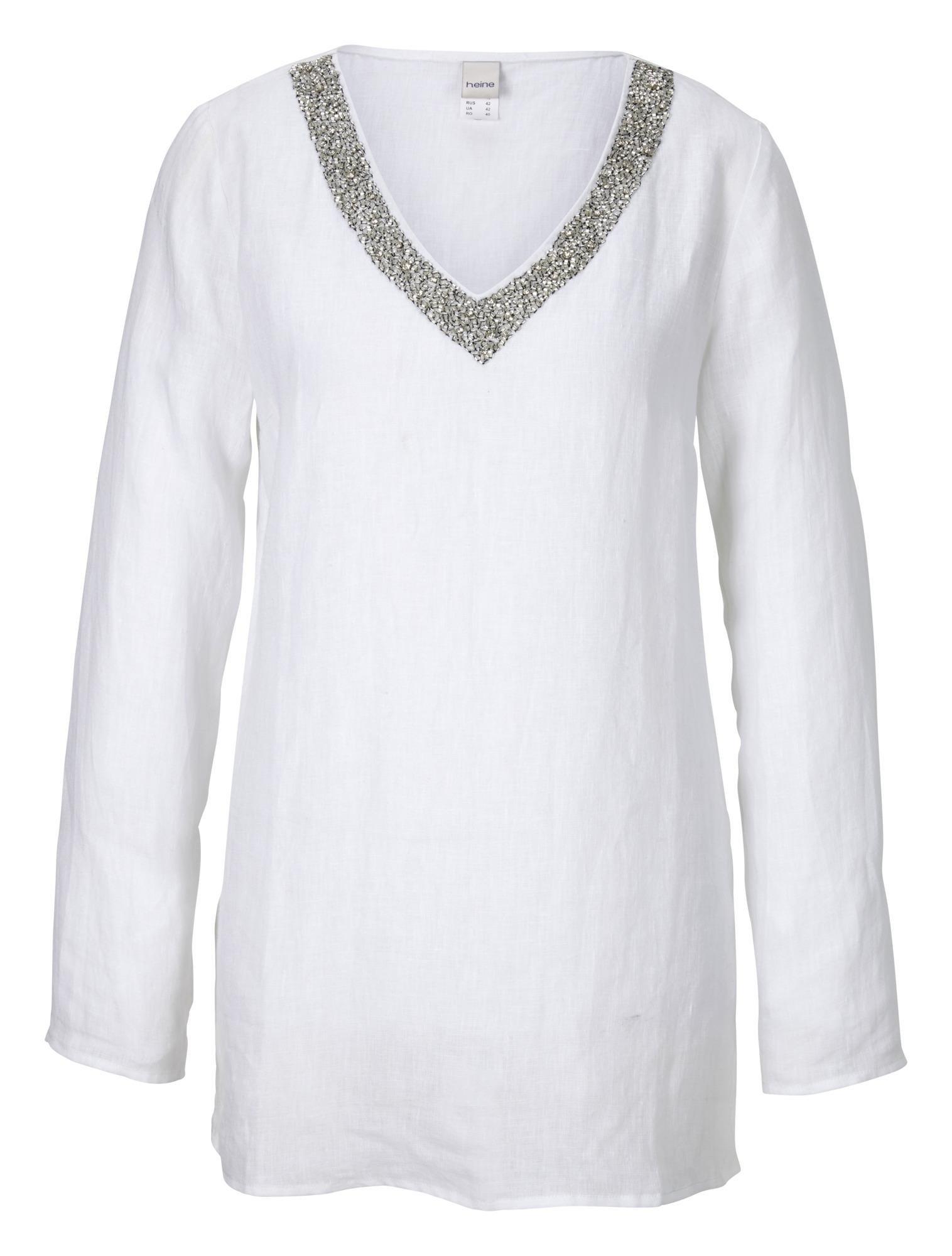 RICK CARDONA by Heine Linnen blouse bij OTTO online kopen