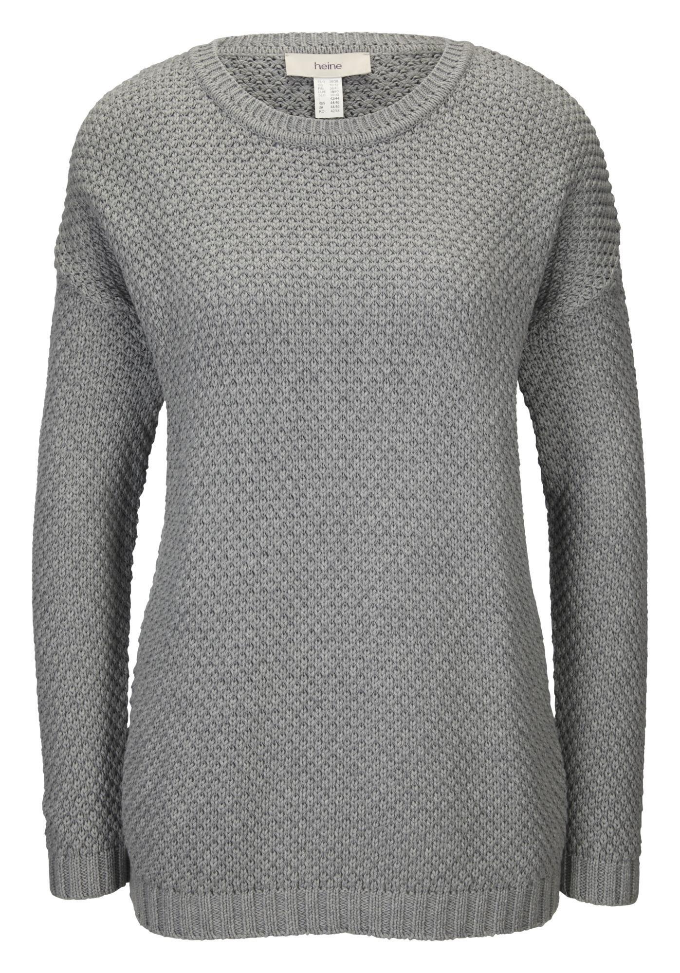 Linea Tesini By Heine Pullover met ronde hals goedkoop op otto.nl kopen