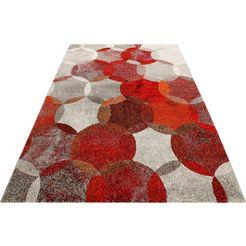 vloerkleed, esprit, »modernina«, hoogte 13 mm, machinaal vervaardigd rood