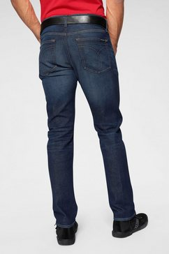 calvin klein slim fit jeans »ckj 026 slim« blauw