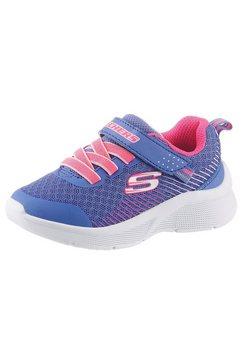 skechers kids sneakers »microspec« blauw