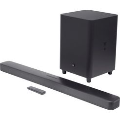 jbl soundbar bar 5.1 surround zwart