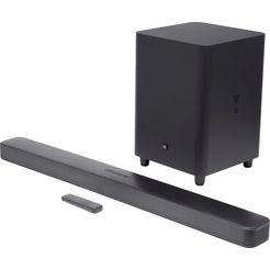 jbl soundbar bar surround zwart