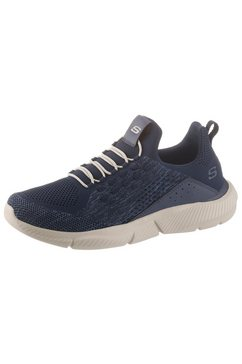 skechers slip-on sneakers »streetway« blauw