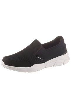 skechers slip-on sneakers »equalizer 4.0« zwart