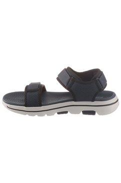 skechers sandalen »go walk 5« blauw