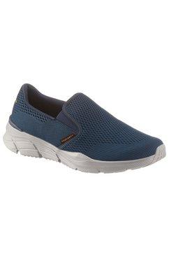 skechers slip-on sneakers »equalizer 4.0« blauw