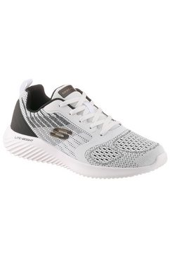 skechers sneakers »bounder« wit