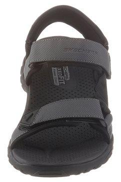 skechers sandalen zwart