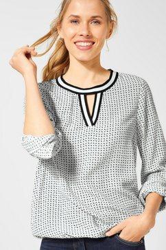 cecil blouse met lange mouwen wit