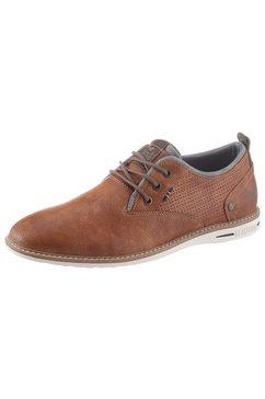 mustang shoes veterschoenen bruin