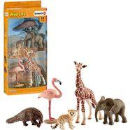 schleich speelset (42388), »wild life, dierenmix« multicolor
