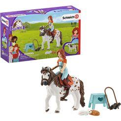 schleich speelfiguur horse club mia  spotty (42518) multicolor