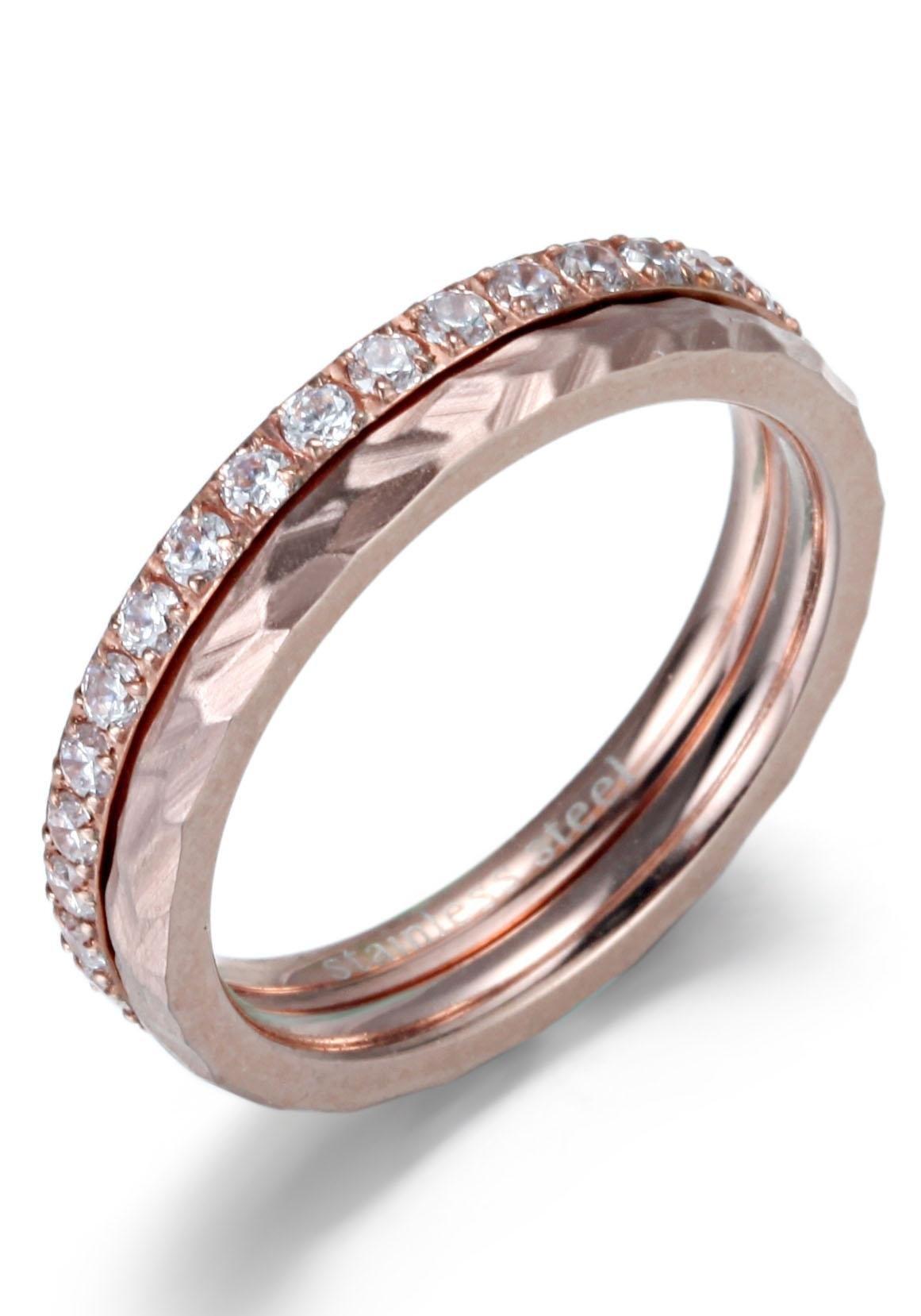 Firetti ringenset »4,0 mm, glänzend, matt, schlicht und zeitlos« (Set, 2 tlg.) nu online bestellen