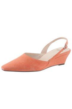 vagabond slingpumps »erica« oranje