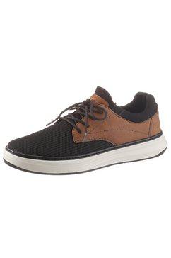 skechers slip-on sneakers »lace up« zwart