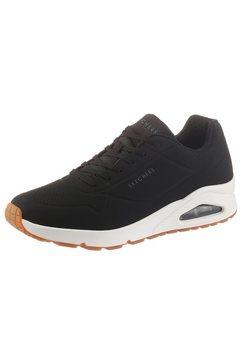 skechers sneakers »uno« zwart