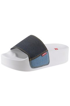 levi's slippers »june s bold« blauw