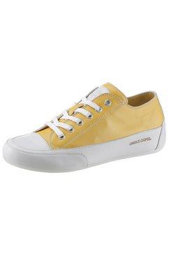 candice cooper sneakers »rock« geel