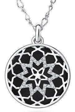 lulu  jane ketting met hanger »mandala-optik, 60320120« zwart