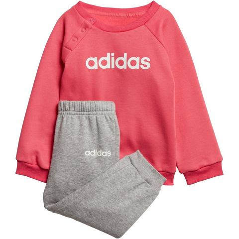 adidas performance joggingpak roze-grijs