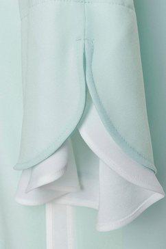 laurèl blouse zonder sluiting groen