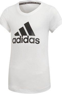 adidas performance t-shirt »young girl must have batch of sport tee« wit